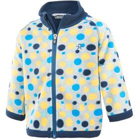 Color Kids Tugo Mini 2 Face Fleece - Veste Enfant - jaune/bleu